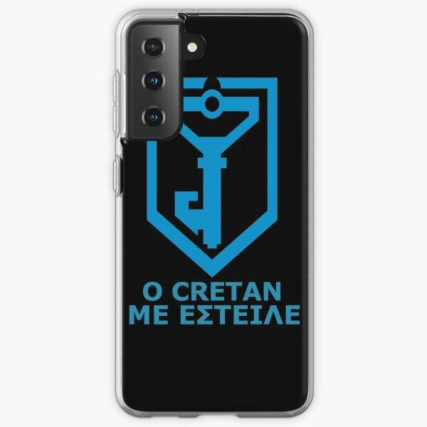 Ο Cretan με έστειλε - Greek Resistance Samsung Galaxy Soft Case