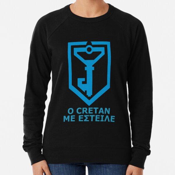 Ο Cretan με έστειλε - Greek Resistance Lightweight Sweatshirt