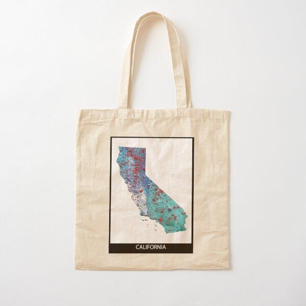 California Cotton Tote Bag