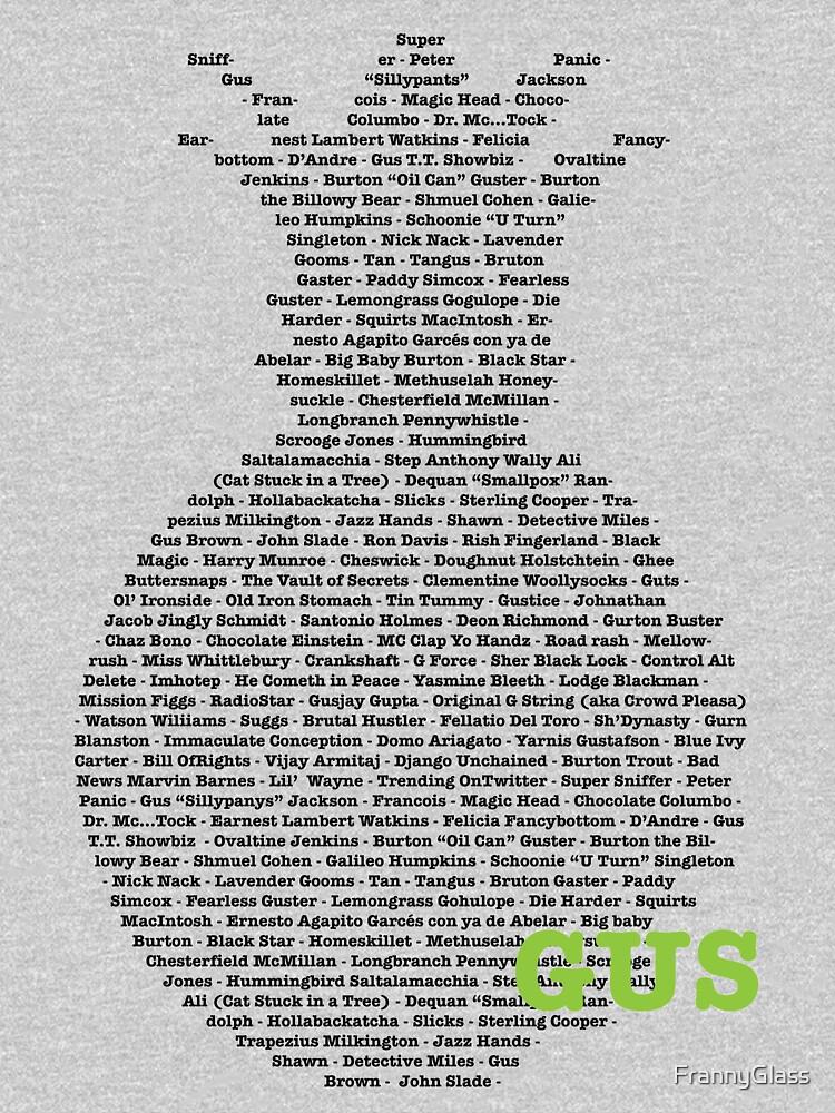 Gus's Nicknames 2 (Psych) | Unisex T-Shirt
