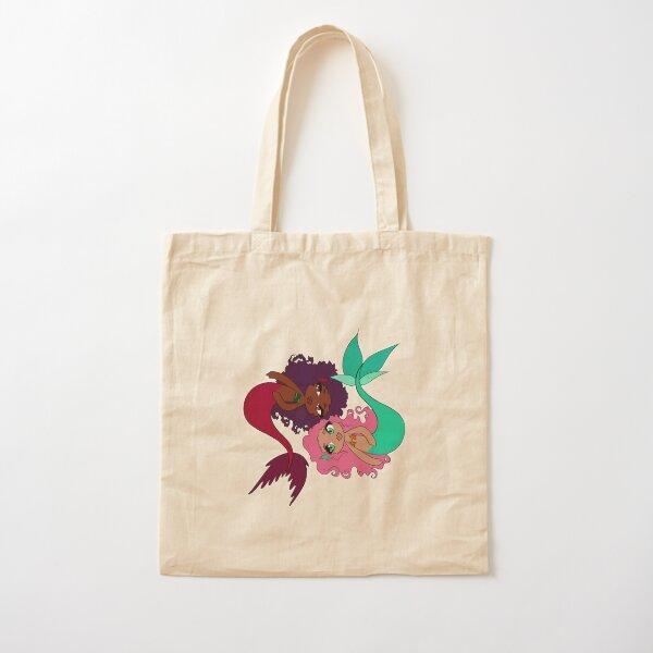 Mer-sisters Cotton Tote Bag