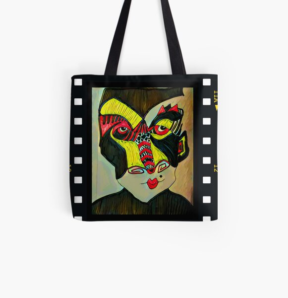 Hidden Meaning All Over Print Tote Bag