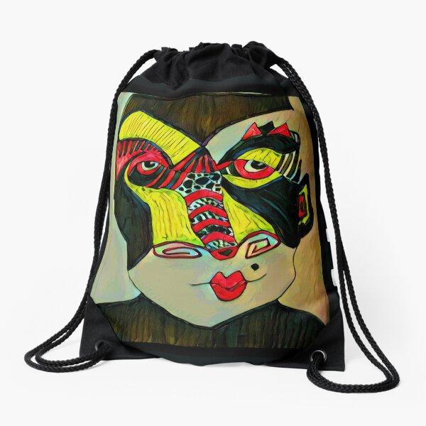 Hidden Meaning Drawstring Bag