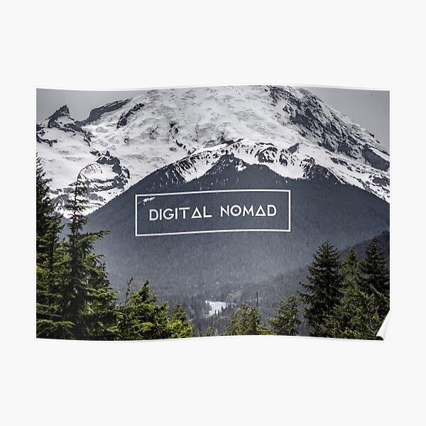 Nómada digital: Mount Rainier Póster