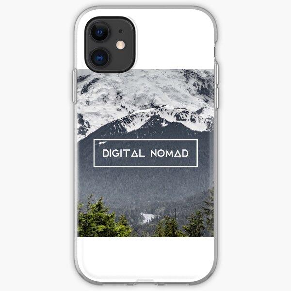 Nómada digital: Mount Rainier Funda blanda para iPhone