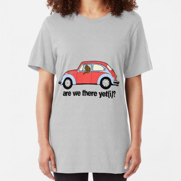 Are we there yet(i)? Slim Fit T-Shirt