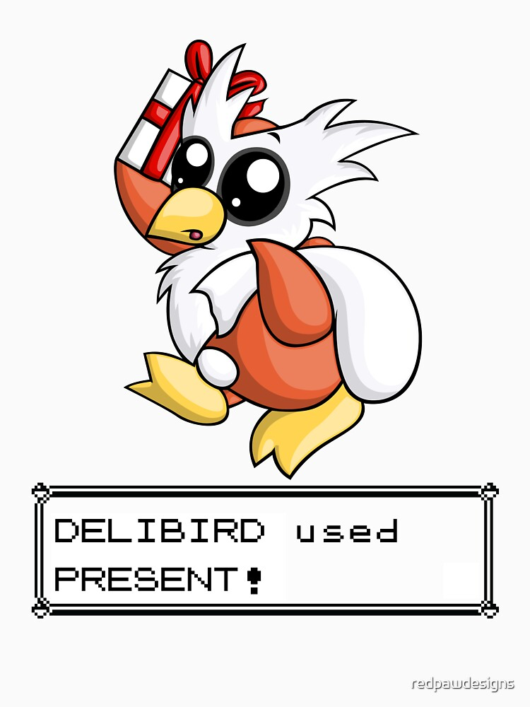 delibird used present unisex t shirt by redpawdesigns redbubble