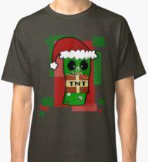 Minecraft Christmas Creeper  Classic T-Shirt