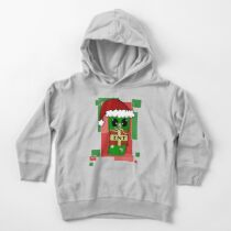 Minecraft Christmas Creeper  Toddler Pullover Hoodie