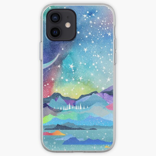Opal Sky Landscape iPhone Soft Case