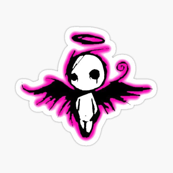 Goth Angel Sticker
