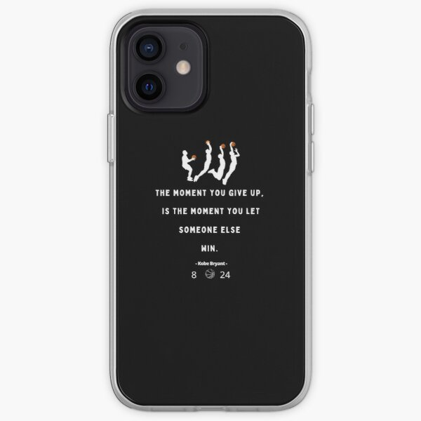 Never Give Up - Kobe iPhone Soft Case