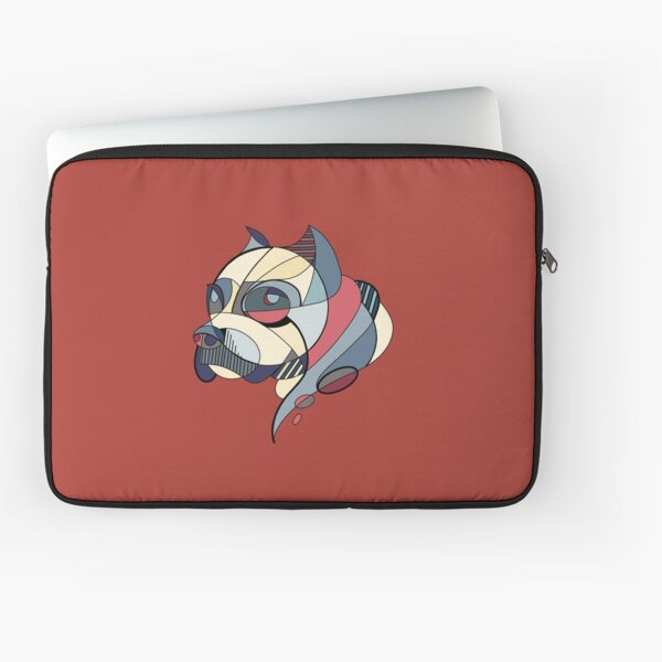 Cubistic dogs Laptop Sleeve