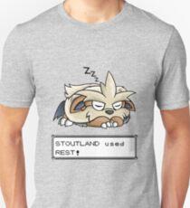 Stoutland used Rest! Unisex T-Shirt