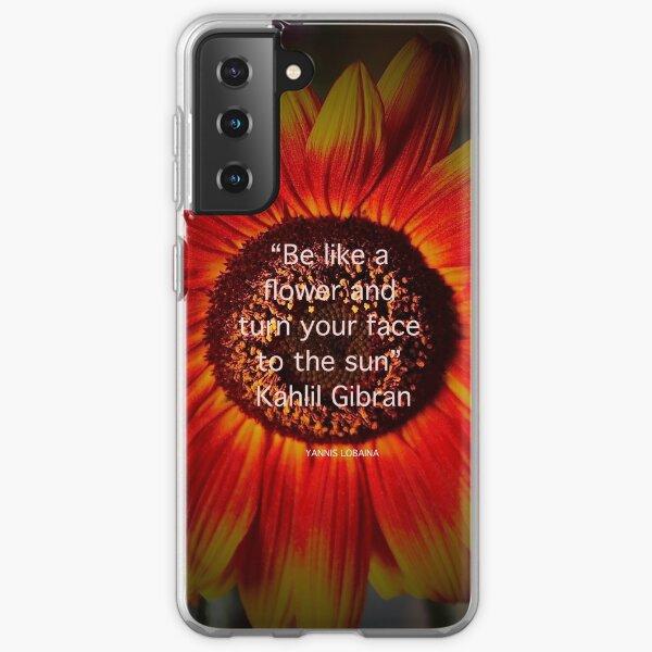 Be a sunflower By Yannis Lobaina Samsung Galaxy Soft Case