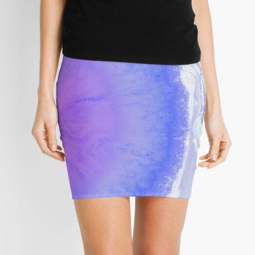 Tie Dye Watercolor Watercolor Pastel Gift Mini Skirt