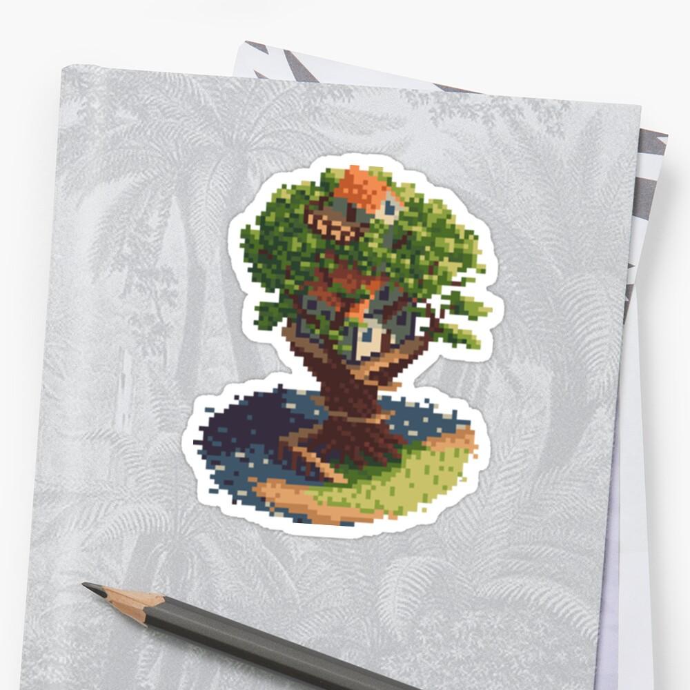 thattreethatfell sticker #2 by ZeMarxman