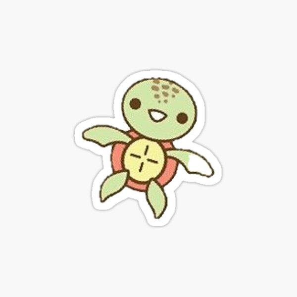 Teeny tiny turtle Sticker