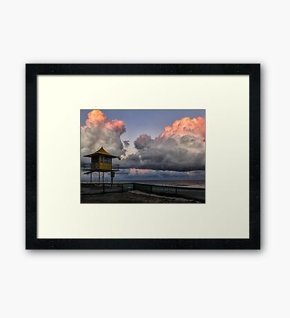 Surfers Paradise Sunset Framed Print
