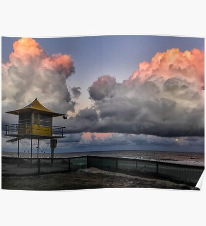 Surfers Paradise Sunset Poster