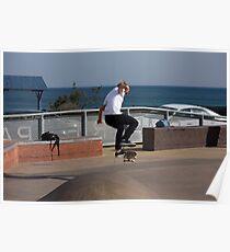 Frontside Flip - Empire Park Skate Park Poster