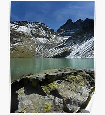 """""""Lac Blanc"""" Belledonne moutains (French Alps) Poster"""