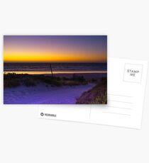 The Granites beach - North of Kingston South Australia Postcards