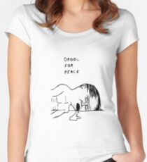 Drool For Peace Women's Fitted Scoop T-Shirt