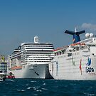Cruise Ships by Dobromir Dobrinov