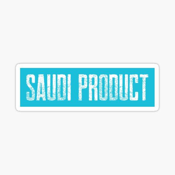SAUDI PRODUCT LOGO STYLISH DESIGN Sticker