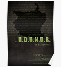 The Hounds of Baskerville fan poster Poster