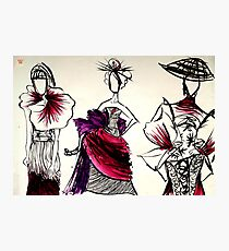 Japanese couture Photographic Print