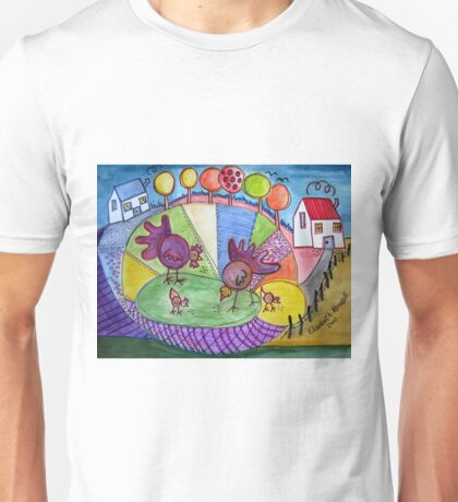 To be a child again. (inspired by Boris Posavec) T-Shirt