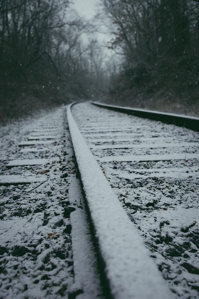 Snowy Bridgewater Morning by Dfeivor