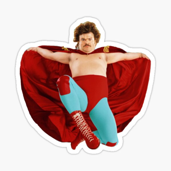 Nacho Libre Flying sticker Sticker