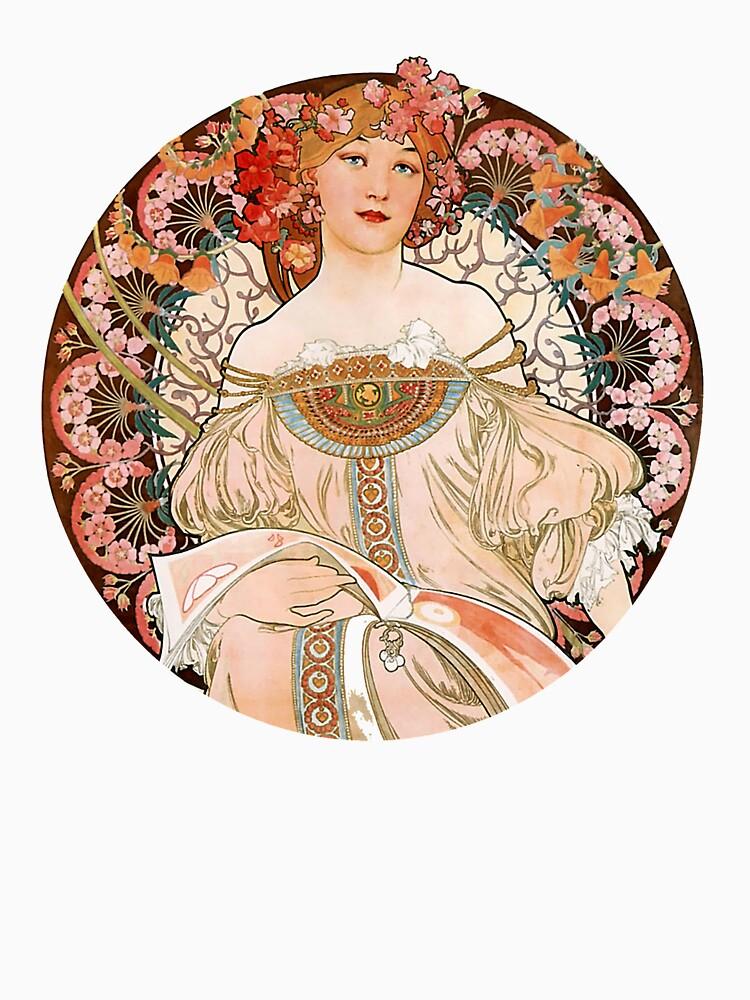 Alphonse Mucha: Art Nouveau Beauty by Chunga