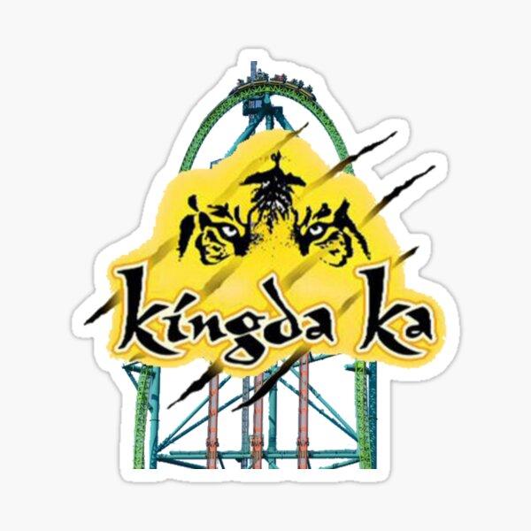 Kingda Ka Six Flags Great Adventure Sticker