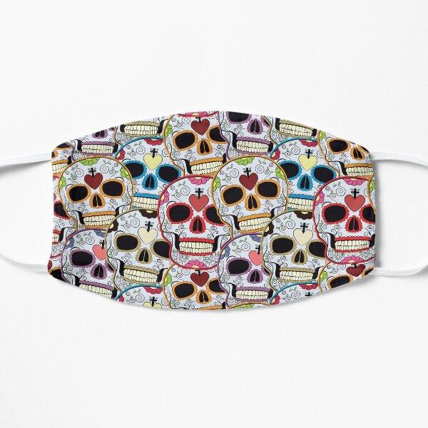 Crânes en sucre Masque sans plis