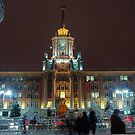 City night view by Eduard Isakov