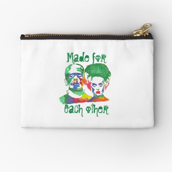 Made for each other Zipper Pouch