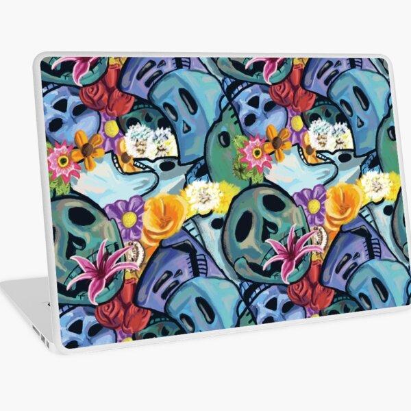 Skull Bouquet Laptop Skin