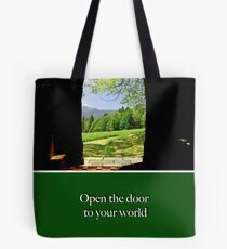 "National Trust ""open the door to your world"" Tote Bag"
