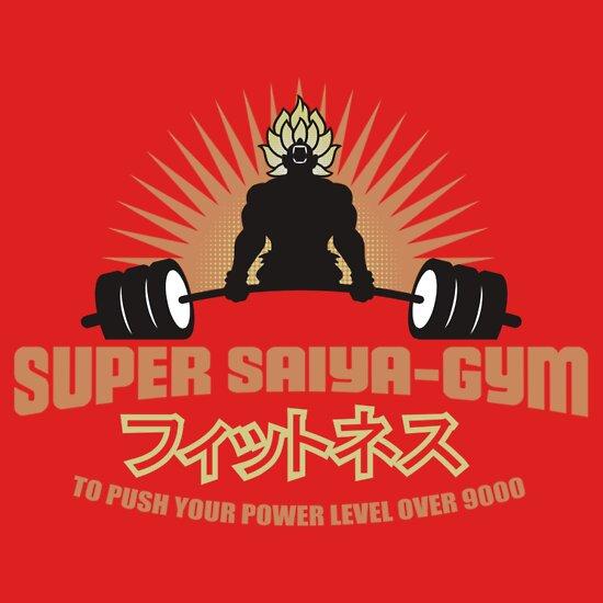 TShirtGifter presents: Saiya-Gym | Unisex T-Shirt