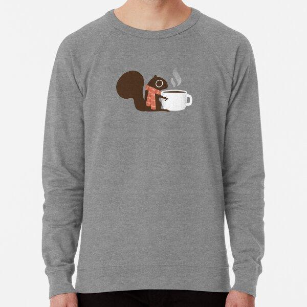 Squirrel Coffee Holiday Lightweight Sweatshirt
