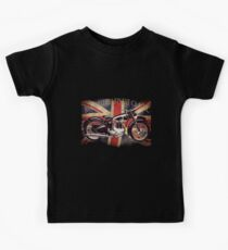 BSA British Finest Motorcycle Kids Tee