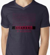 A Scandal in Belgravia fan poster Mens V-Neck T-Shirt
