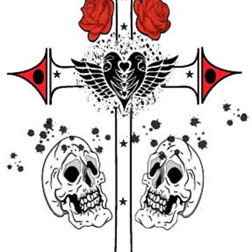 Skull & Cross by Deanozoff