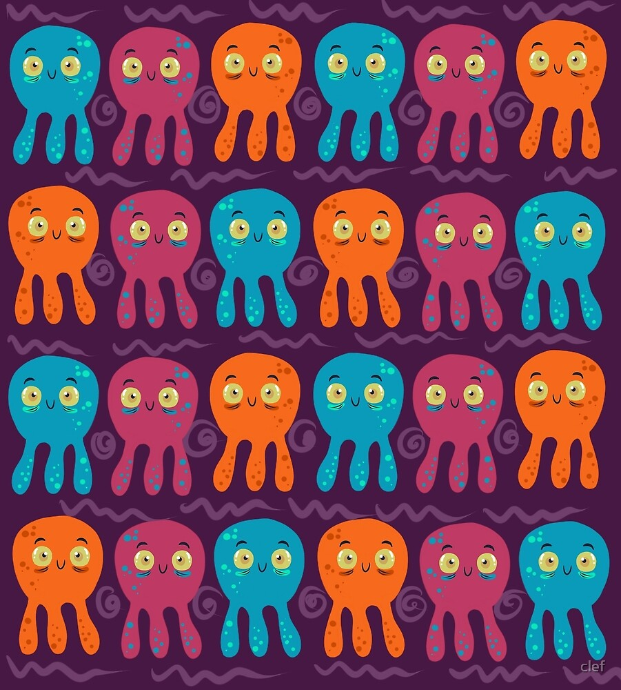 octopus by clef