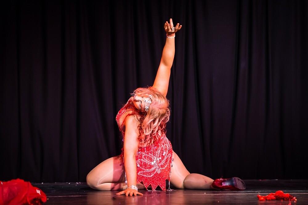 Calami Tease burlesque  by Pollysirena