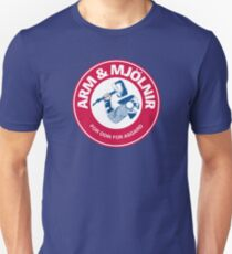 Arm and Mjolnir Unisex T-Shirt